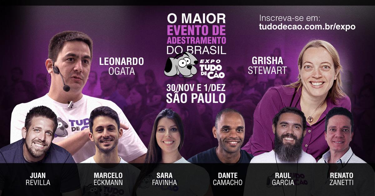 Expo Tudo de Cão - O maior evento de adestramento do Brasil.